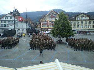 Military procession